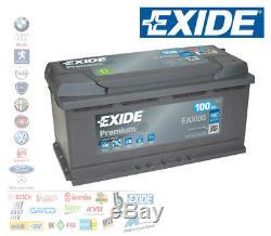 12v Car Battery 100 Ah Positive A DX 900a Ignition Exide Bmw Mercedes