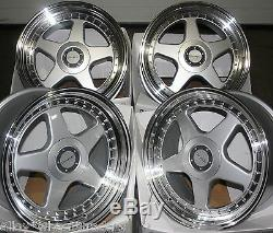 17 8.5j Dr-f5 Wheels Alloy For 5x98 Alfa Romeo 147 156 164 Gt Fiat 500l