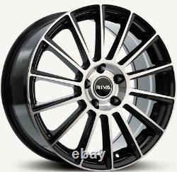 17 B Mbm Alloy Wheels For Alfa Romeo 159 Giulia Giulietta Stevio 5x110 Pcd