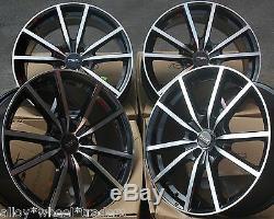 17 Bmf Fx10 Wheels Alloy 5x98 Alfa Romeo 147 156 164 Gt Fiat 500l Doblo