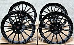 17 Dtd Dg1 GB Wheels Alloy Black Gloss Multi Rayon 17 Inch For 5x98