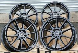 18 02 GB Novus Wheels Alloy Adam Opel Corsa S D Astra H & Opc