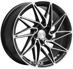 18 1av Zx10 Bmf Wheels Alloy Alfa Romeo 159 Jeep Cherokee Saab 9-3 9-5 5x110
