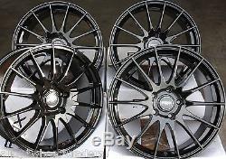 18 B Fx004 Wheels Alloy For 5x98 Alfa Romeo 147 156 164 Gt Fiat 500l Doblo