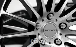 18 Bmf Strength 5 Alloy Wheels 5x98 Alfa Romeo 147 156 164 Gt Fiat 500l