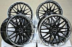 18 Cruize 190 Bp Alloy Wheels For Peugeot 308 407 508 605 607