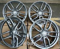 18 G Iota Alloy Wheels For Cadilac Bls Fiat 500x Croma Saab 9-3 9-5 5x110