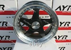 18 Grey 04 Wheels Alloy For Alfa Romeo 159 Giulia Giulietta Stevio 5x110 Pcd