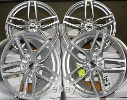 18 S Drs Wheels Alloy For 5x98 Alfa Romeo 147 156 164 Gt Fiat 500l Doblo