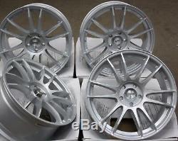 18 Slv Suzuka Wheels Alloy 5x98 Alfa Romeo 147 156 164 Gt Fiat 500l