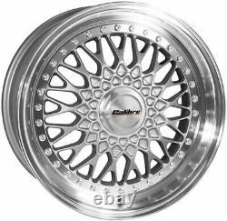18 Sp Vintage Wheels 5x98 Alloy To Alfa Romeo 147 156 164 Gt Fiat 500l