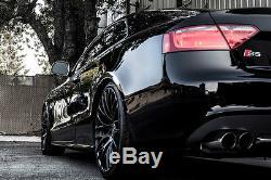 18 Wheels Alloy Cruize 170 MB Black Matte Concave Spokes 5x108 18 Inches