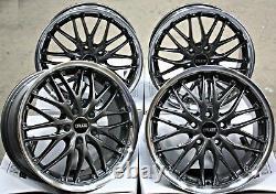 18 Wheels Alloy Cruize 190 Gmp Gunmetal Poli Depth 18 Inch Alloys From