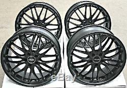 18 Wheels Alloy Cruize 190 MB Matte Satin Deep Black 5x108 18 Inches Alloys