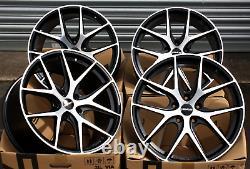 19 Alloy Wheels Novus 01 Bp For Peugeot 308 407 508 605 607