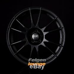 4 Alloy Wheels Ultraleggera Black Matte 8x18 Et35 5x110 Ml65,1 New