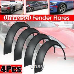 4pcs Polyurethane Flexible Universal Car Fender Wheel Arches Rockets 8080-8080