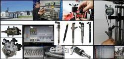 4x Bosch Injector 0445110183 Fiat 1.3 Multijet 1.3 D Multijet Opel 1.3 Cdti