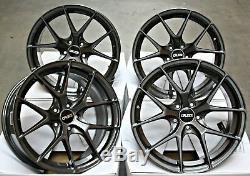 Alloy Wheels 18 Cruize Gto Gm For Adam Opel Corsa S D Astra H & Opc