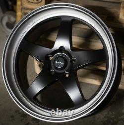 Alloy Wheels X 4 18 Bpl F7 For 5x98 Alfa Romeo 147 156 164 Gt Fiat 500l