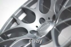 Alloy Wheels X 4 18 Gm Radium For Alfa Romeo 159 Jeep Cherokee Saab 9-3