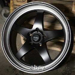 Alloy Wheels X 4 19 Bp Dare F7 For Alfa 159 Cadilac Bls Fiat Saab 9-3 9-5