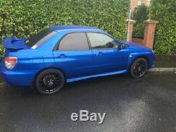 Alloy Wheels X4 18 Black Fx004 For 5x98 Alfa Romeo 147 156 164 Gt Fiat