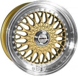 Alloy Wheels X4 18 Gp Vintage For 5x98 Alfa Romeo 147 156 164 Gt Fiat