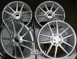 Alloy Wheels X4 18 S V Radius For Alfa Romeo 159 Jeep Cherokee Saab 9-3