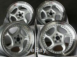 Alloy Wheels X4 18 Silver F6 For 5x110 Alfa Romeo 159 Jeep Cherokee Saab