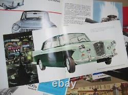Automobile Italian Car Graphic 18 Catalogs Alfa Romeo Fiat Lancia Wolseley 1960s