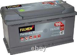Battery Fulmen Formula Xtreme 100ah/900a (fa1000)