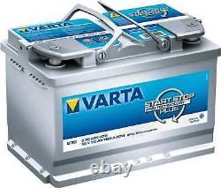 Battery Varta Start-stop Silver Dynamic Agm 70ah / 760a (e39)