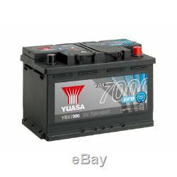 Battery Yuasa 12v 70ah 650a Efb Ybx7096