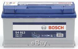 Bosch S4013 Car Battery 95a / H-800a