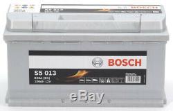 Bosch S5013 Car Battery 100a / H-830a