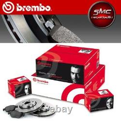Brake Discs And Brake Pads Brembo Alfa Mito 1.3 1.6 Jtdm To Part 2008 Ant