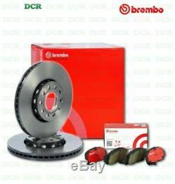 Brake Pads And Discs Brembo Kit Alfa 147 (937) 1.9 Jtdm 16v 150cv