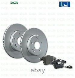 Brake Pads Kit And Discs Front Ate Fiat Bravo II (198) 1.6 D Mjt