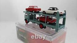 Brekina Gdpk95843ar2 Fiat 642 Truck Transporter With 3 Cars Alfa Romeo Ho 1