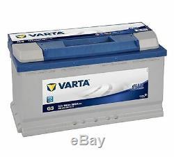 Car Battery Varta Blue G3 Dynamic 12v 95ah 800a 353x175x190mm 595402080