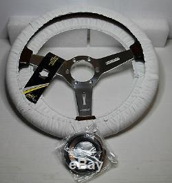 Classic Sport Steering Wooden Luisi 370mm Mugello II Mahogany Made In Italy