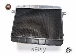 Cooler The Water Fiat 124 Spider Cs1 As Bs 1400 1600 Radiator 1966-1978
