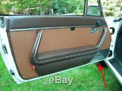 Doors Piece Panel Coating Original Peugeot 504 Convertible Coupe Chrome
