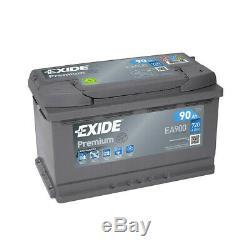 Exide Premium Ea900 Battery 12v 90ah 720a