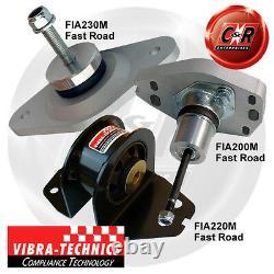 Fiat 20v Coupe (5-6 Speed) Vibra Technics Complete Road Kit