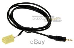 For Online Radio Adapter Plug For Fiat Alfa Lancia Mp3 3.5mm # 5650