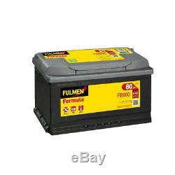 Fulmen Formula Fb800 Battery 12v 80ah 640a