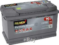 Fulmen Formula Xtreme Battery 90ah / 720a (fa900)