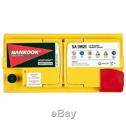Hankook 12v 95ah Agm Start Stop Start Car Battery 352x174x190mm